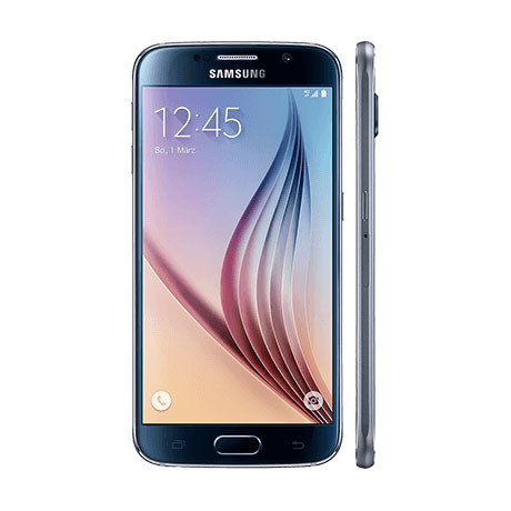 GMX GMX All-Net & Surf LTE 2 GB + Samsung GALAXY S6 32GB schwarz (Kredit)