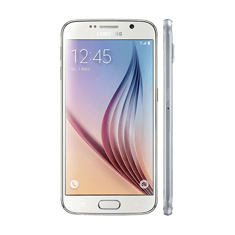 GMX GMX All-Net & Surf LTE 2 GB + Samsung GALAXY S6 32GB weiß (Kredit)